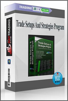 Trade Setups And Strategies Program