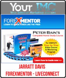 Jarratt Davis – Forexmentor – LiveConnect