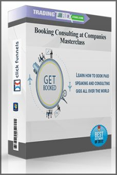 Booking Consulting at Companies Masterclass