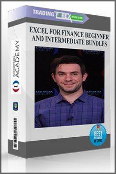 EXCEL FOR FINANCE BEGINNER AND INTERMEDIATE BUNDLES