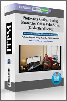 Professional Options Trading Masterclass (POTM) Online Video Series