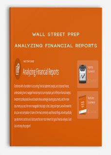 Wall Street Prep – Analyzing Financial Reports