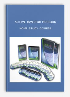 Active Investor Methods Home Study Course
