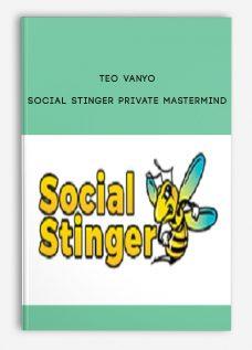 Teo Vanyo – Social Stinger Private Mastermind