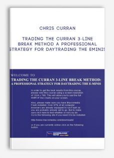 Chris Curran – Trading The Curran 3-Line Break Method A Professional Strategy For Daytrading The Eminis