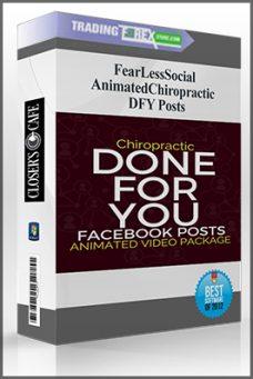 FearLessSocial – AnimatedChiropractic DFY Posts