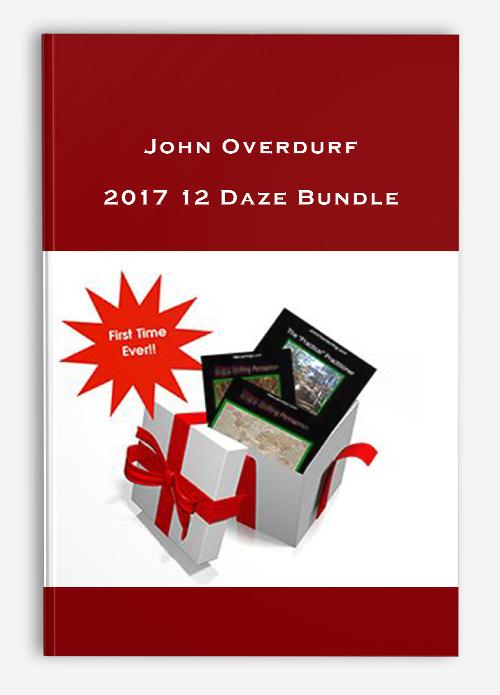 John Overdurf – 2017 12 Daze Bundle
