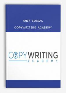 Anik Singal – Copywriting Academy