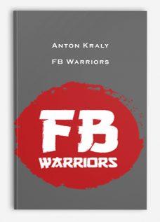 Anton Kraly – FB Warriors