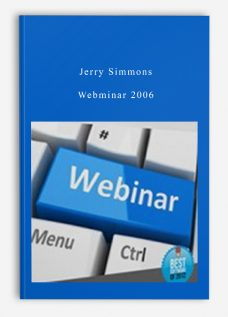 Jerry Simmons – Webminar 2006