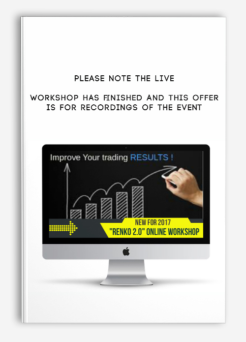 Please Note the live workshop has finished and this offer is for recordings of the event