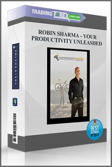 ROBIN SHARMA – YOUR PRODUCTIVITY UNLEASHED