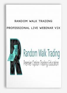 Random Walk Trading – Professional Live Webinar VIX