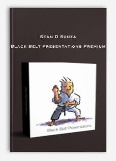 Sean D Souza – Black Belt Presentations Premium