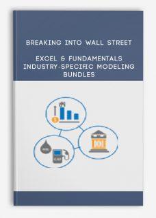 Breaking Into Wall Street – Excel & Fundamentals + Industry-Specific Modeling Bundles