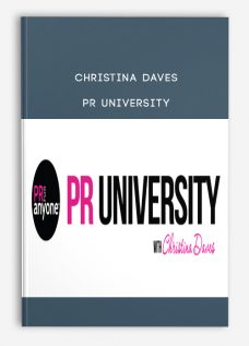 Christina Daves – PR University