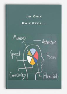 Jim Kwik – Kwik Recall