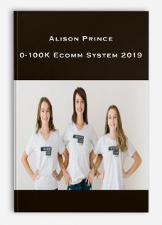 Alison Prince – 0-100K Ecomm System 2019