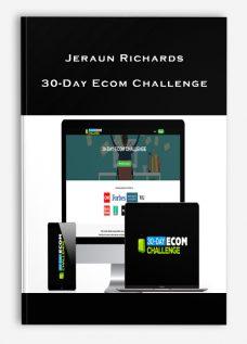 Jeraun Richards – 30-Day Ecom Challenge
