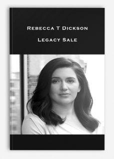 Rebecca T Dickson – Legacy Sale