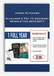 James Altucher – Altucher's Top 1% Advisory Newsletter 2015-2017