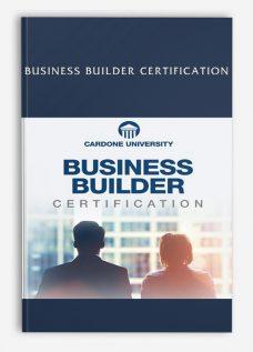 Business Builder Certification
