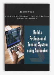 JB Marwood – Build a Professional Trading System using Amibroker