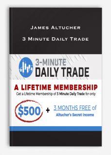 James Altucher – 3 Minute Daily Trade
