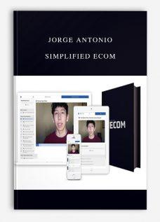 Jorge Antonio – Simplified Ecom