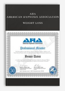 AHA – American Hypnosis Association – Weight Loss