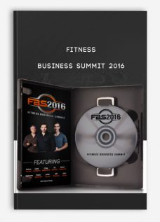 Fitness Business Summit 2016