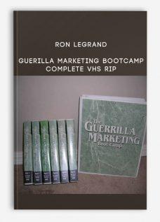 Ron LeGrand Guerilla Marketing Bootcamp complete VHS Rip