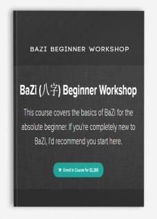 BaZi Beginner Workshop