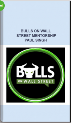 Bulls on Wall Street Mentorship – Paul Singh