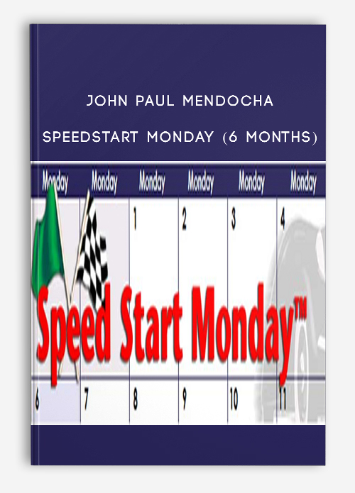 John Paul Mendocha – SpeedStart Monday (6 Months)