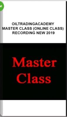 Oiltradingacademy – Master Class (Online Class) Recording New 2019