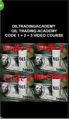 Oiltradingacademy – Oil Trading Academy Code 1 + 2 + 3 Video Course