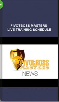 Pivotbossmasters – PivotBoss Masters Training