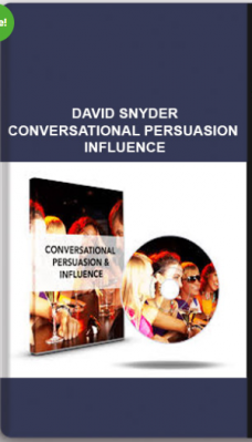 David Snyder – Conversational Persuasion & Influence