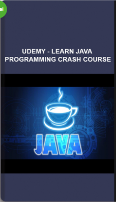 Udemy – Learn Java Programming Crash Course