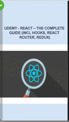 Udemy – React – The Complete Guide (Incl Hooks, React Router, Redux)