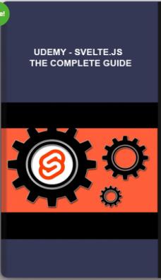 Udemy – Svelte.js – The Complete Guide