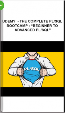 "Udemy – The Complete PL/SQL Bootcamp : ""Beginner To Advanced PL/SQL"""