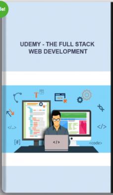 Udemy – The Full Stack Web Development