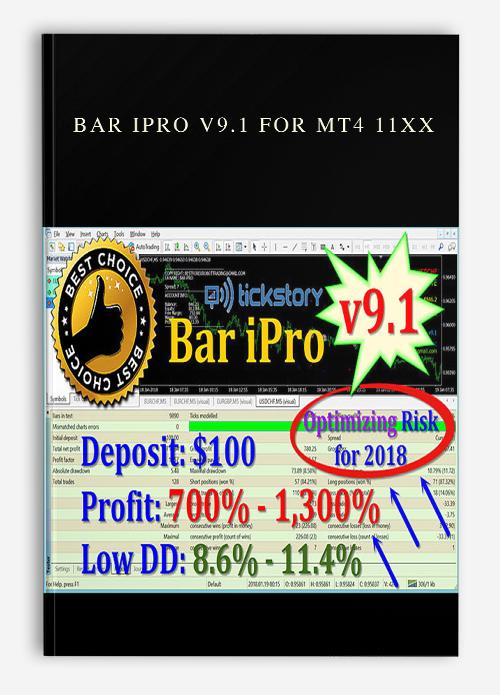 Bar Ipro v9.1 for MT4 11XX