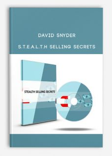 David Snyder – S.T.E.A.L.T.H Selling Secrets
