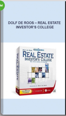 Dolf De Roos – Real Estate Investor's College