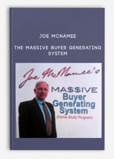 Joe McNamee – The Massive Buyer Generating System