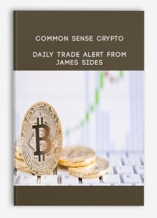 Common Sense Crypto from James Sides