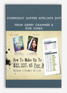 Overnight Supper Affiliate 2017 by Gerry Crammer & Rob Jones